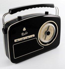 GPO GPO Fifties style radio - zwart