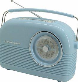 Soundmaster Nostalgische DAB+-radio DAB450BL