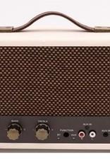 GPO GPO Nostalgische bluetooth speaker - crème