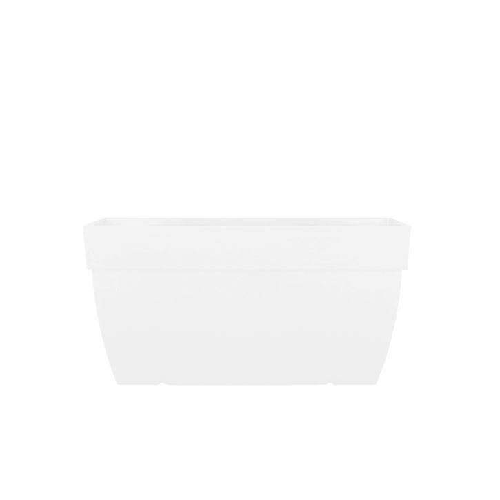 Ikala Grote plantenbak wit rechthoekig L80xB40xH40 Monaco
