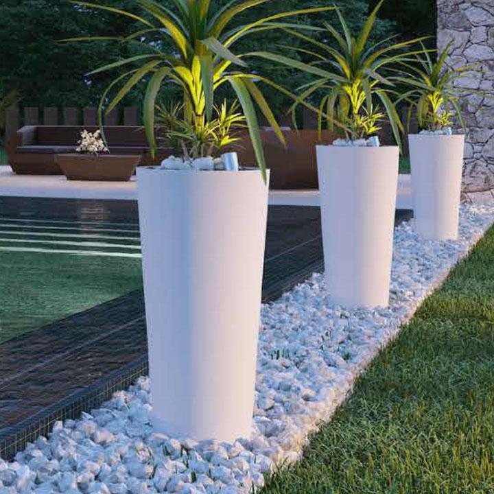 Bloembakken Kunststof Buiten.Hoge Plantenbakken Voor Binnen Of Buiten Mooi Voordelig Ikala