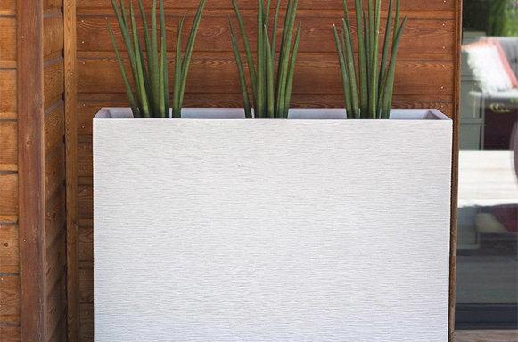 Hoge plantenbakken