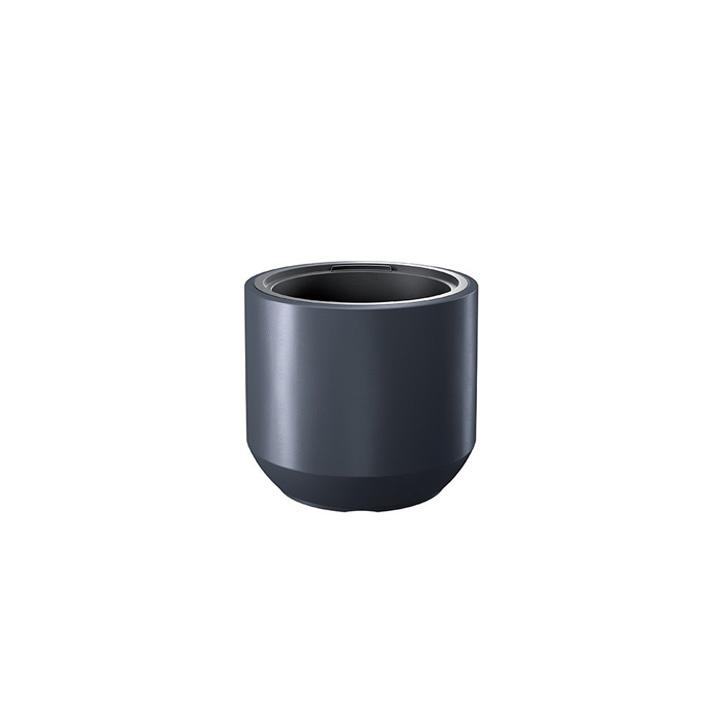 Ikala NIEUW!  Cilinder bloempot 'Solid' |  Antraciet | 40 cm | binnen & buiten