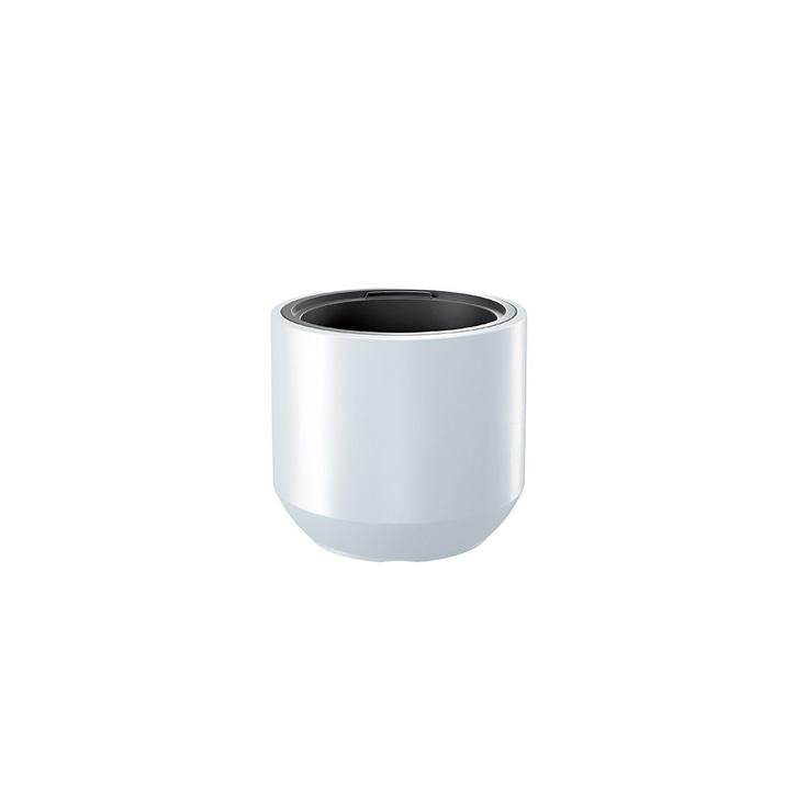 Ikala NIEUW!  Cilinder bloempot 'Solid' |  Wit | 40 cm | binnen & buiten