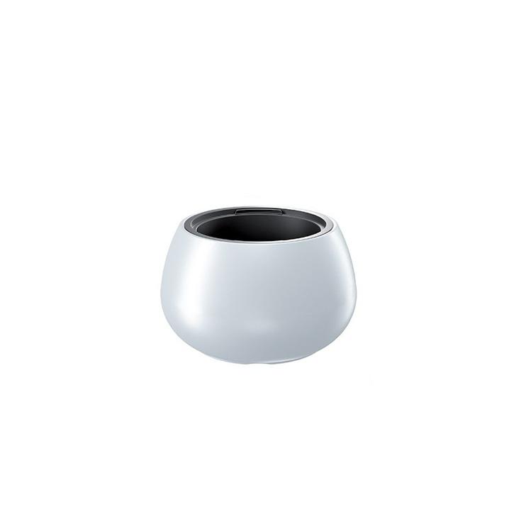 Ikala NIEUW!  Bol bloempot 'Solid' |  Wit | 44 cm | binnen & buiten