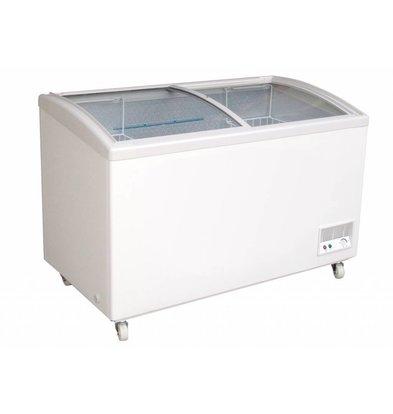 Combisteel Tiefkühltruhe mit Glasdeckel | 236 Liter  1073x596x(h)840mm