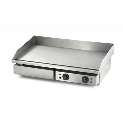 Combisteel Elektro Grillplatte   Glatt   230V-3,5kW   730x510x(h)230cm