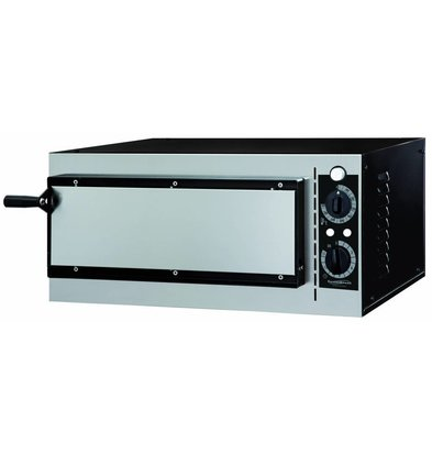 Combisteel Pizzaofen 1 Kammer | Elektro | 1x Pizza 32cm | 568x500x(h)280mm