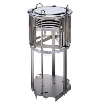 Combisteel Tellerspender 470mm | für Teller 210-290mm | bis zu 55 Teller