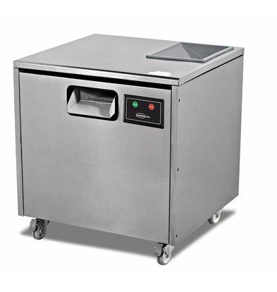 Combisteel Besteckpoliermaschine | Kapazität 7000 Einheiten-5kg | 660x650x(h)700mm