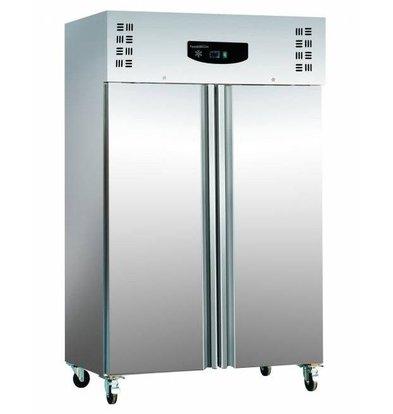 Combisteel Kühlschrank Edelstahl+ Alu | 1200 Liter  Statisch | 6x 2/1 GN | 1345x815x(h)2010mm