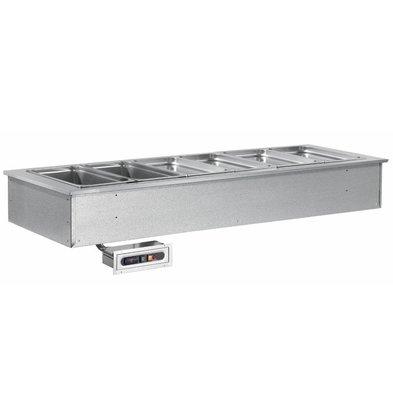 Combisteel Drop-In Behälter beheizt | 2X 1/1 GN | 844x650x(h)290mm | Temperaturbereich 90/125° C