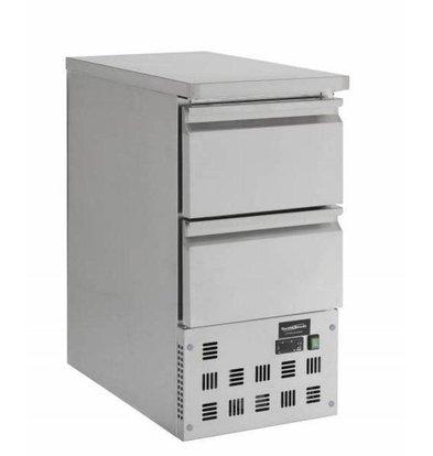 Combisteel Kühltisch | 2 Schubladen | 109 Liter | 435x700x(h)870mm