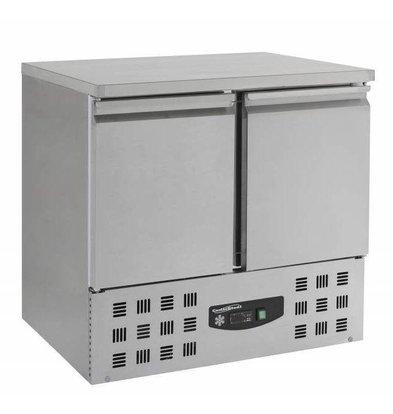 Combisteel Edelstahl Tiefkühltisch | 2 Türen | 943x700x(h)855mm | 230V |