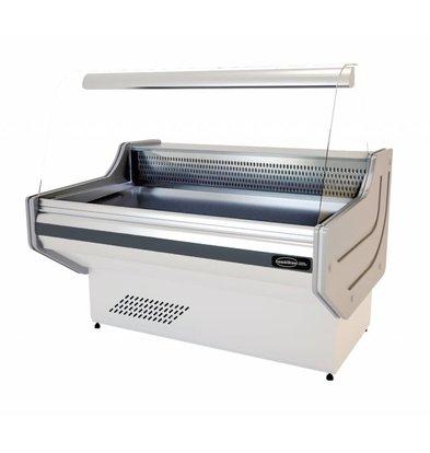 Combisteel Kühltheke | 1500x1060x(h)1310mm | Statisches Kühlsystem +1/+10