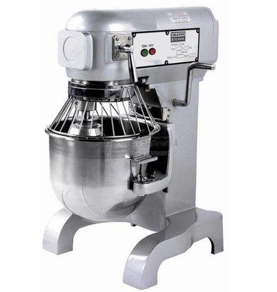 Combisteel Planetenrührmaschine | 10 Liter | 100-178-355 Tpm | 0.45 kW | 452x432x(h)606mm