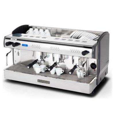 Combisteel Espressomaschine | 3 Kessel |400V-6kW | 967x523x(h)580mm |17,5 Liter
