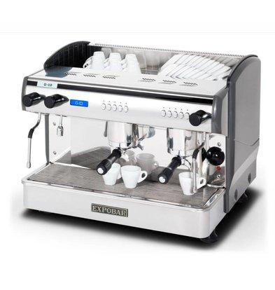 Combisteel Espressomaschine | 2 Kessel | 230V-4,5kW | 677x523x(h)580mm |11,5 Liter