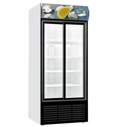Combisteel Gastronomie Kühlschrank | 2 Schiebetüren | 700 Liter | 880x711x(h)2000mm