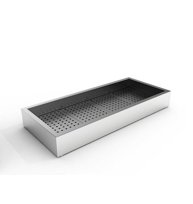 Combisteel Crushed-Eis Behälter | 4/1 GN | Aufbau