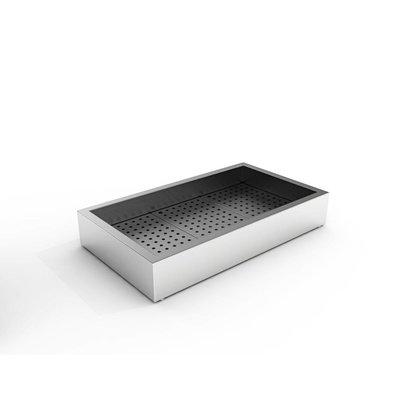 Combisteel Crushed-Eis Behälter | 3/1 GN | Aufbau