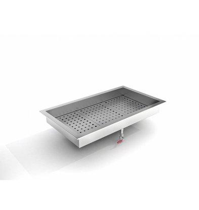 Combisteel Crushed-Eis Behälter | 3/1 GN | Einbau