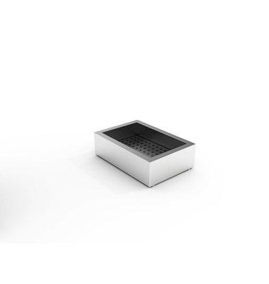 Combisteel Crushed-Eis Behälter | 1/1 GN | Aufbau