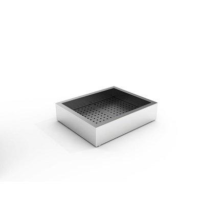 Combisteel Crushed-Eis Behälter | 2/1 GN | Aufbau
