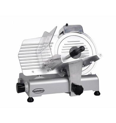 Combisteel Aufschnittmaschine 220 | 479x398x(h)404mm | Durchmesser 220mm | Einstellbar bis 10mm