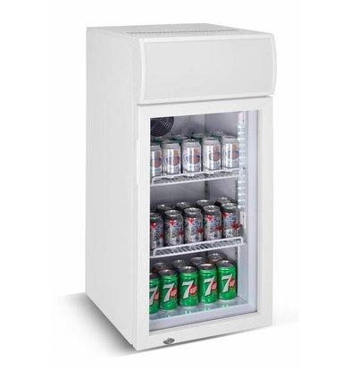 Combisteel Mini Barkühlschrank | Glastür | 80 Liter  460x495x(h)985mm