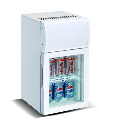 Combisteel Mini Barkühlschrank | Glastür | 20 Liter  295x370x(h)570mm