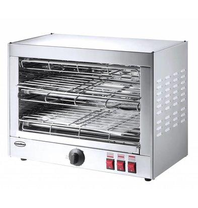 Combisteel Salamander Toaster | 230V | 490x250x(h)280mm | 2 Etagen