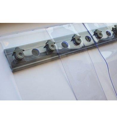 Combisteel Streifenvorhang Kühl- und Tiefkühlzelle