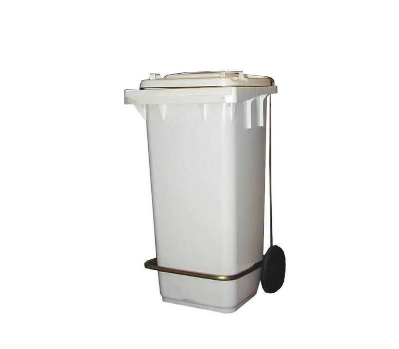 Combisteel Abfallbehälter mit Fußbedienung | 120 Liter | 480x550x(h)920mm