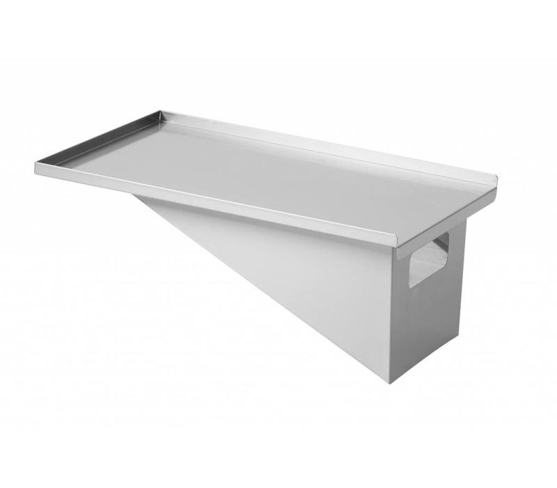 Combisteel Korbablage für Friteusen CO74661425/1430 | 767x392mm
