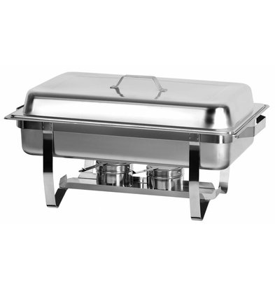 Combisteel Chafing Dish | 1/1GN | 9 Liter | 220x512x(h)376mm
