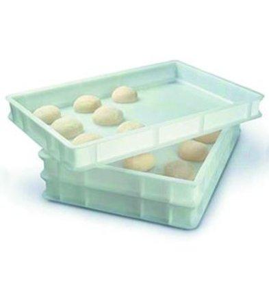 Combisteel Pizzateig-Behälter | 600x400x(h)70mm