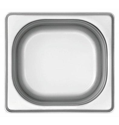 Bartscher GN-Behälter 1/6GN | Basic Line | Tiefe 65mm