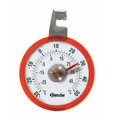 Bartscher Kühlschrankthermometer | -30 bis +50°C | Ø ca. 44mm