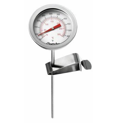 Bartscher Friteusen-Thermometer | 10 °C bis 300 °C