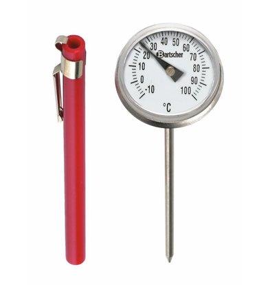 Bartscher Thermometer für Kerntemperaturmessung | -10 bis +100°C | 110mm