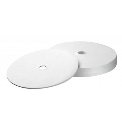 Bartscher Rundfilterpapier 195mm, 250Stk