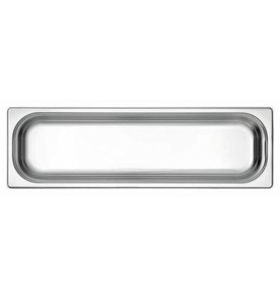 Bartscher GN-Behälter 2/4GN | Tiefe 65mm | 162x530mm