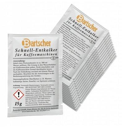 Bartscher Entkalker Kaffeemaschinen | 30 Stück