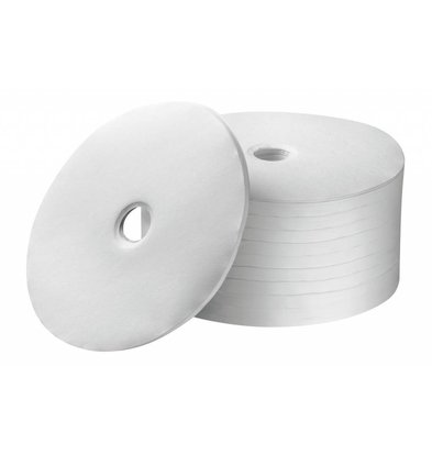 Bartscher Rundfilterpapier 245mm, 1000Stk