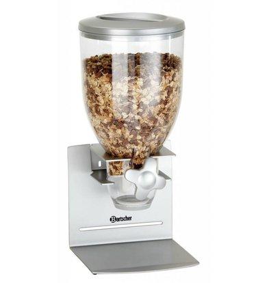 Bartscher Cerealienspender | Kunststoff | 3,5 Liter | 180x170x(h)395mm