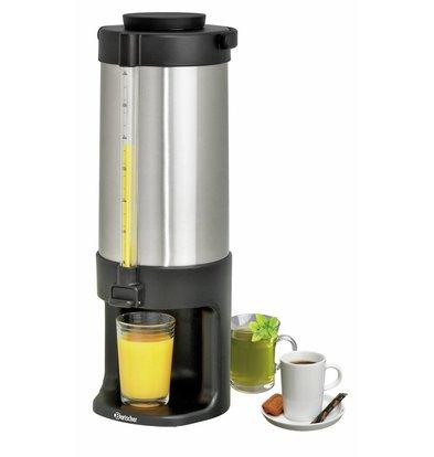 Bartscher Iso-Dispenser | 3 Liter | Edelstahl Gehäuse | 165x185x(h)460mm