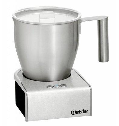 Bartscher Induktions-Milchaufschäumer| Edelstahl | 600W | 125x150x(h)180mm