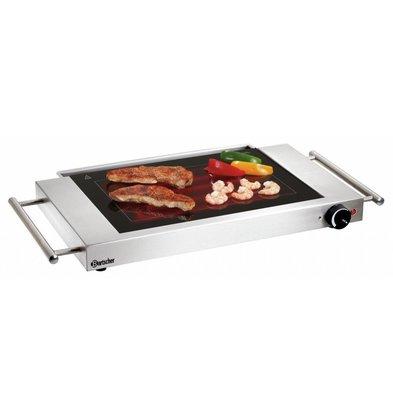 Bartscher Ceran-Grillplatte   glatt   1,2 kW   640x360x(h)60mm