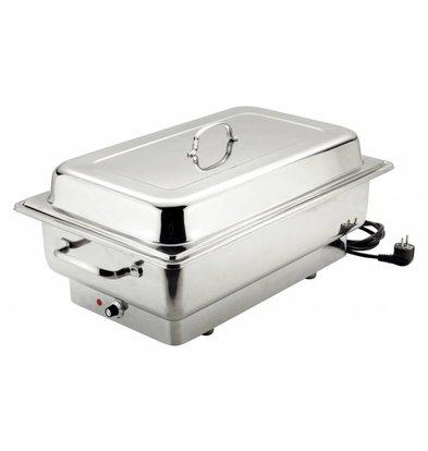 Bartscher Elektro-Chafing Dish | 1/1GN | Tiefe 100 mm | 623x356x(h)285mm